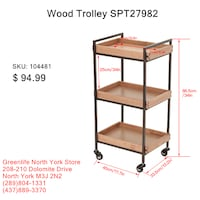 Greenlife NorthYork Facial/SPA/Eyelash/Salon Trolley,$49.00 Toronto