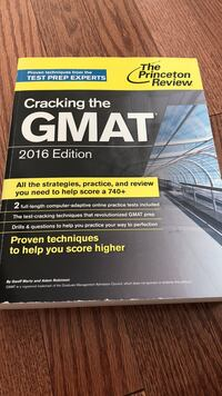The Princeton Review GMAT 2016