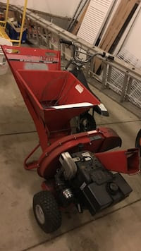 red and black miller machine