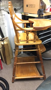 Vintage  baby high CHAIRTOWN OF MASS
