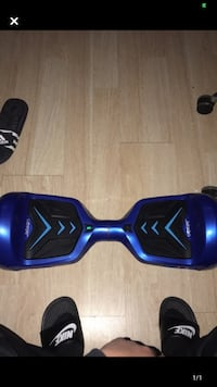 Bluetooth Blue Hoverboard