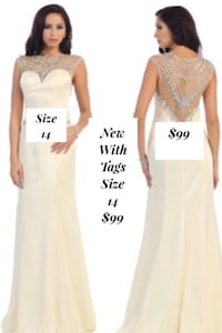 New With Tags Size 14 Bridal Gown $99