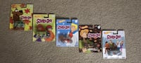 HOT WHEELS SCOOBY DOO COMPLETE SET ALL WITH RIDERS & METAL FRAMES Brooklyn Park, 55445