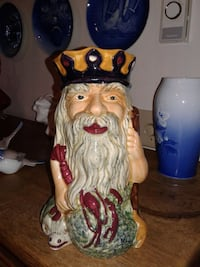 father neptune genuine stafford shire hand painted VANCOUVER