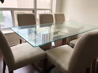Dining table and 6 chairs  Toronto, M5T 2W5