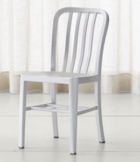 Crate and barrel set of four aluminum chairs Waukee, 50263
