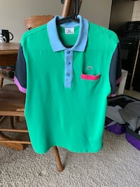 Lacoste Polo Size 4