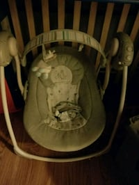 baby's gray and white swing chair Orillia