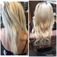 hair extensions Downey