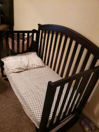 2 in 1 crib / toddler bed and twin FRAMES ONLY