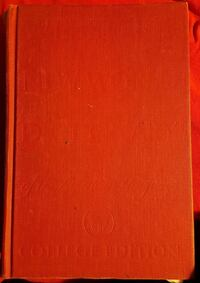 1960's WEBSTER'S DICTIONARY  Sumrall, 39482