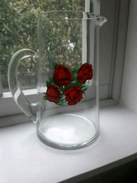 4 Roses cocktail pitcher.  Garden City, 11530