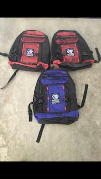 3 New Backpacks for $20 each  Vancouver, V5W 1H2