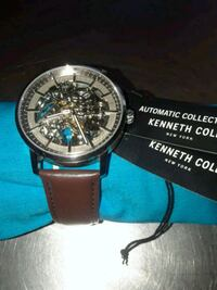 New Kenneth Cole New Yorker Skeliton Mens Watch  Portland, 97209