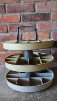Three Tear Circular Storage Organizer Guelph