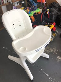 white and gray high chair Foster City, 94404