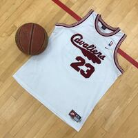 Lebron James 1972 Cleveland Cavaliers Nike throwback jersey