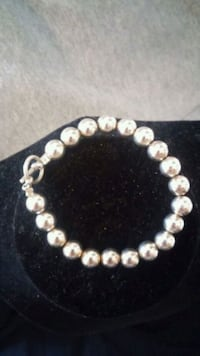 925 Sterling Silver Ball Bracelet Perry, 31069