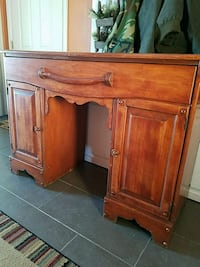 brown wooden cabinet with drawer West Warwick, 02893