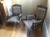 Pair of Antique Louis XVI chairs New Westminster, V3L