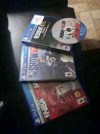 PS4 Games With Cases Houston, 77026