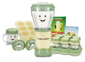 BABY BULLET FOOD MAKING SYSTEM!!