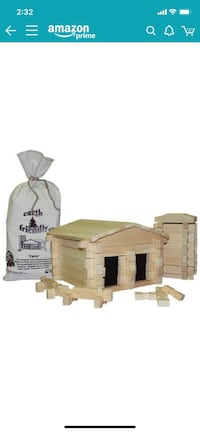 Wooden Farm Building Block Set Westminster, 21157