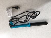 blue and black hair curler Weymouth