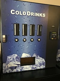 Cashless Pop Vending Machine or Man Cave refreshment holder Markham, L3P 3K2