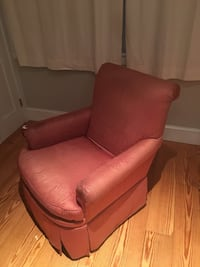 Red armchairs, very comfortable. Baltimore, 21231