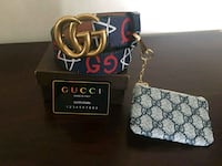 black and gray Gucci leather crossbody bag Chicago, 60645