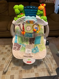 Jungle themed Baby Bouncer
