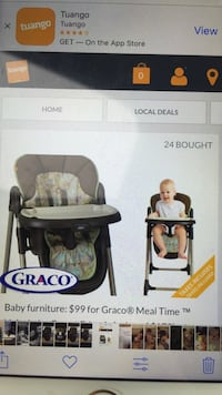 Mint condition Graco highchair! Toronto, M2N 5P8