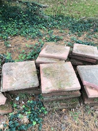 Pavers about 75-80.  Great foundation for a shed or firewood.  Take as many or as little as you need. 14 mi