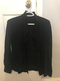 black button-up long-sleeved shirt Whitby, L1R 3G9