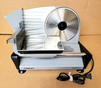 Cuisinart Professional Food Slicer *Like New* Vancouver