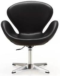 Chair round leather Los Angeles