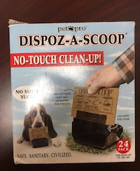 Dispoz-a-scoop no-touch clean-up! New in package - obo San Diego, 92131