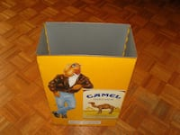 yellow metal Camel Hand Pack container North Reading, 01864