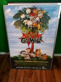 Rugrats movie poster framed  Edmonton, T5N 3A1