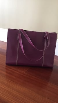 Women's purple leather bag Bedford, 03110