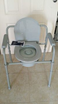 gray and white commode chair Kissimmee, 34759