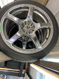 """18"""" rims with tires"""