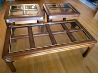 3 piece coffee table & side tables Toronto, M6B 2A5