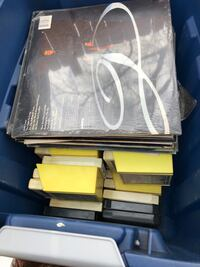 Albums and 8 track tapes