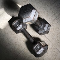 12lbs hexagonal dumbbells Takoma Park, 20912