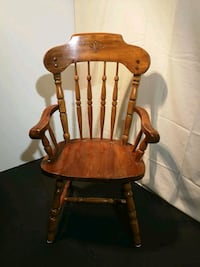 Solid Wood Dining Chairs Set