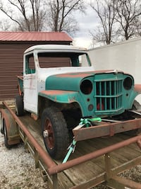 willys - pickup - 1962