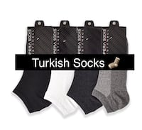 (4 pairs) Men's Economic Booties Socks Toronto, M3M 2G3