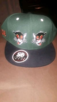 San Diego Krazy Kats Fitted Hat.  New Dracut, 01826